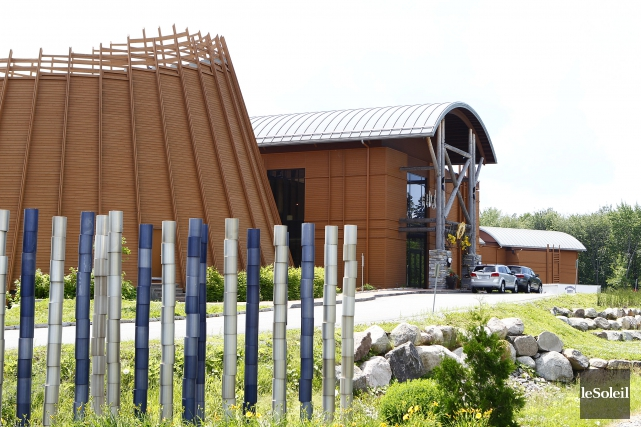 Le Musée-Hôtel Premières-Nations, à Wendake... (Photothèque Le Soleil, Yan Doublet)
