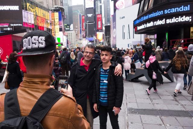 La ville de New York prévoit toujours d'enregistrer une baisse du nombre de... (PHOTO AFP)