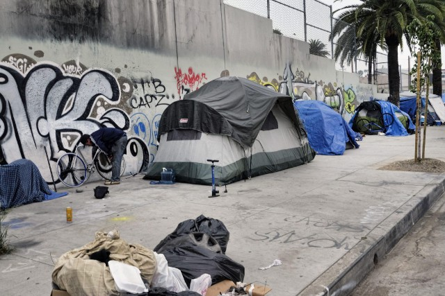 Los Angeles a été baptisée «capitale américaine des... (PHOTO AP)