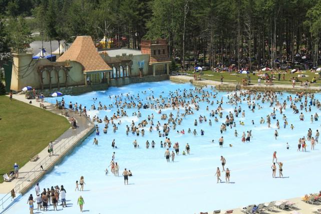 Situé en banlieue d'Ottawa, le parc Calypso du... (fournie par Groupe Villages Vacances Valcartier)