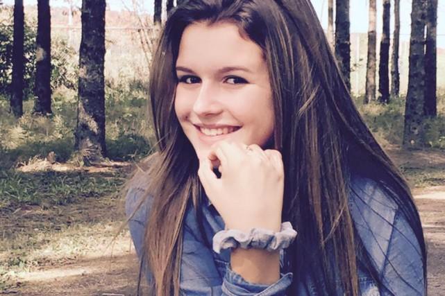 Stéphanie Fugère est maintenant âgée de 15 ans.... (Courtoisie)