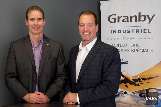 Le directeur général de Granby Industriel, Patrick St-Laurent... (Alain Dion, La Voix de l'Est)