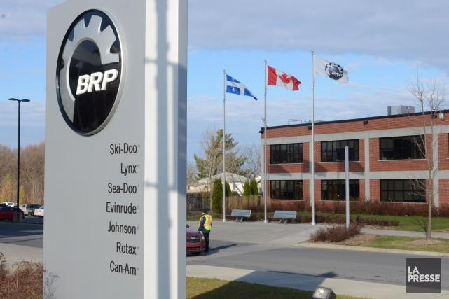 La participation de la famille Beaudoin-Bombardier dans BRP... (Archives, La Presse)