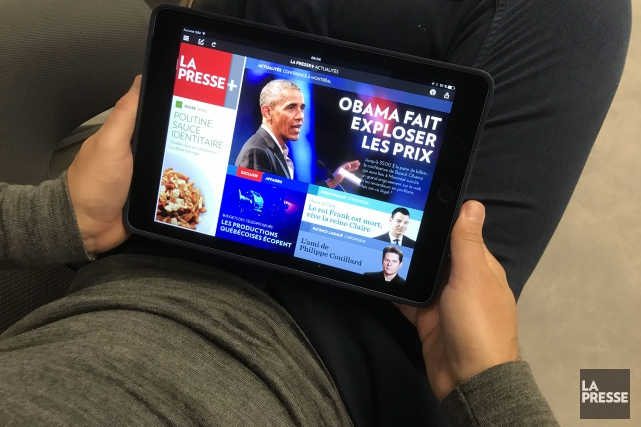 Dans la foulée du succès obtenu par son application pour tablette La... (La Presse)