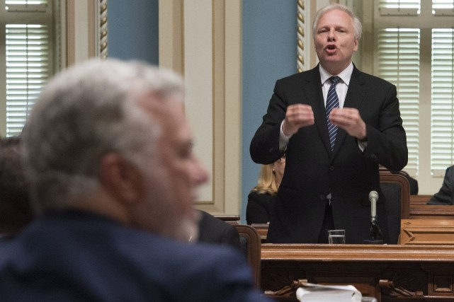 Jean-Francois Lisée.... (PHOTO JACQUES BOISSINOT, ARCHIVES LA PRESSE CANADIENNE)