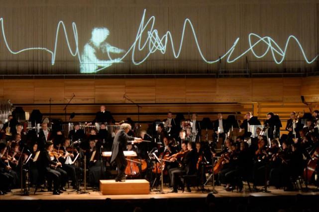 LaSymphonie no1, Concordia a été créée en l'honneur... (Photo Bernard Brault, La Presse)