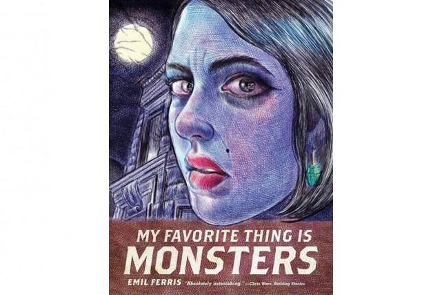 My Favorite Thing is Monsters, d'Emil Ferris... (Image fournie par Fantagraphics Books)