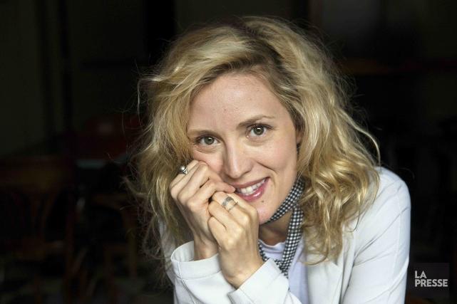 La comédienne Evelyne Brochua passé du temps à... (La Presse, Robert Skinner)