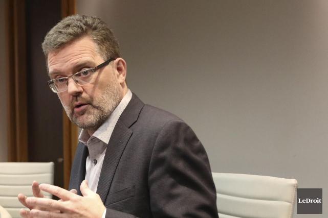 Le maire de Gatineau, Maxime Pedneaud-Jobin... (Patrick Woodbury, Archives Le Droit)