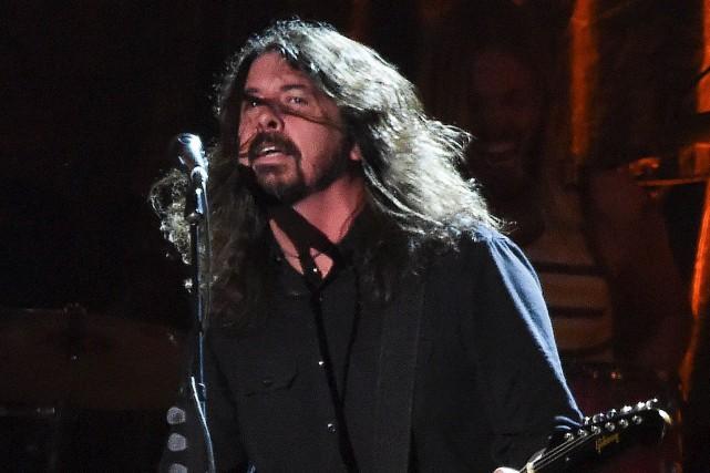 Dave Grohl, leader des Foo Fighters... (Archives AFP, Robyn Beck)