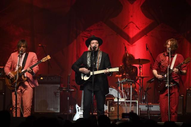 Le groupe Arcade Fire sera en spectacle au... (Photo Bernard Brault, La Presse)