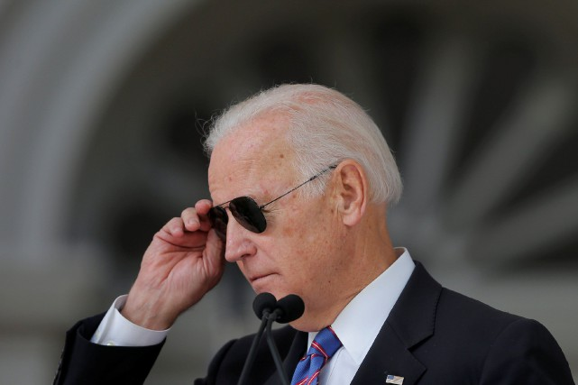 Joe Biden affirme que «c'est le temps des... (ARCHIVES REUTERS)