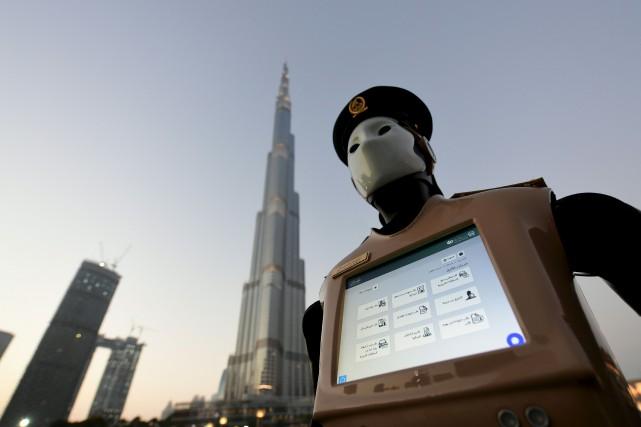 L'objectif de la police de Dubaï est que... (AFP, Giuseppe Cacace)