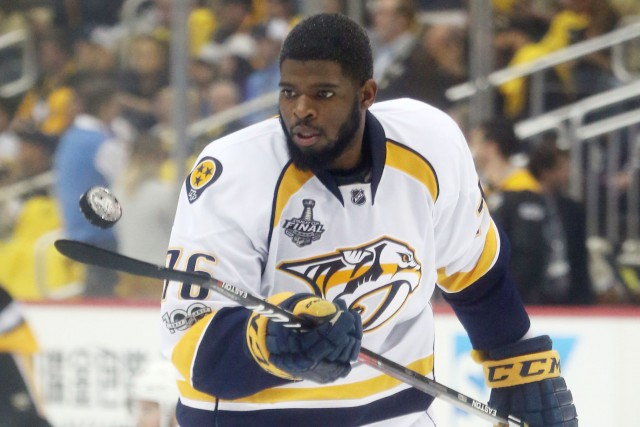 P.K. Subban... (Photo Charles LeClaire, archives USA TODAY Sports)
