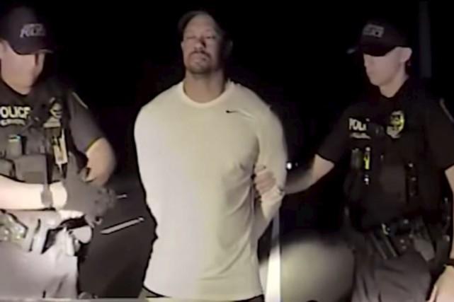 La police avait rendu publique la vidéo du... (Image Jupiter Police Department)