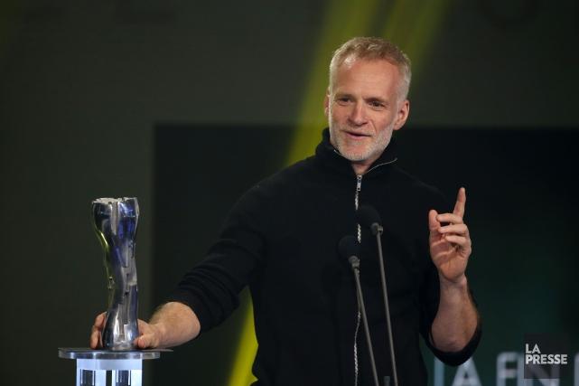 André Turpin reçoit le prix de la meilleure... (PHOTO Martin Chamberland, LA PRESSE)