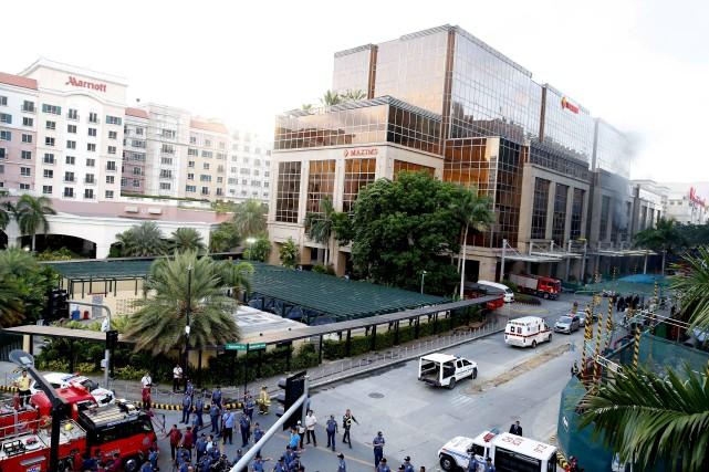 C'est dans cet hôtel-casino de la capitale des... (AP, Bullit Marquez)