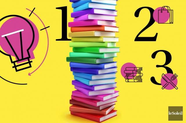 Fêter sa librairie (Infographie Le Soleil)