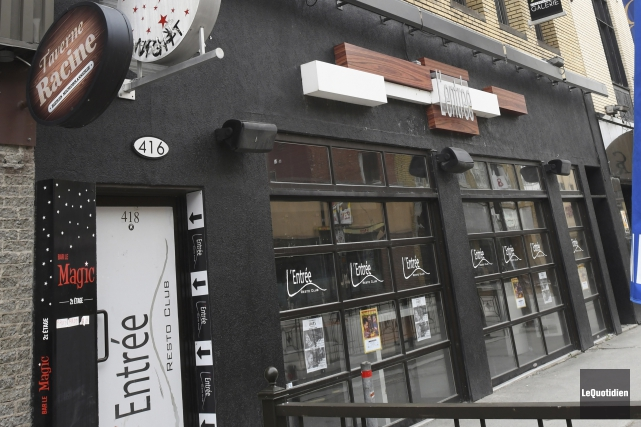 Si la transaction va de l'avant, le Café... (Le Quotidien, Michel Tremblay)