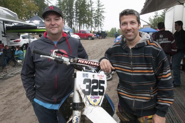 Saguenay, Saint-Jean Vianney, competition de motocross.... (Michel Tremblay)