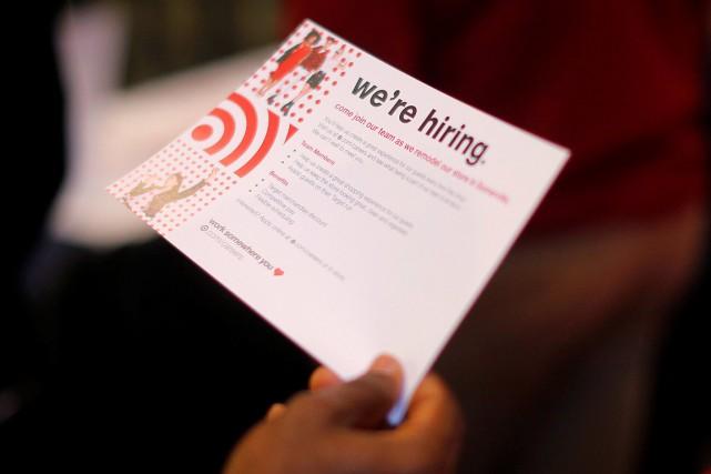 Les créations d'emplois aux États-Unis se sont essoufflées en mai à la surprise... (Photo Brian Snyder, REUTERS)