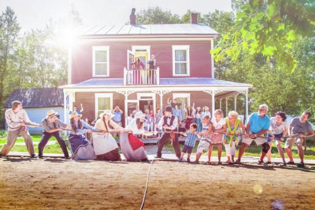 Le Village québécois d'antan recrée l'ambiance du Québec... (PHOTO FOURNIE PAR LE VILLAGE QUÉBÉCOIS D'ANTAN)