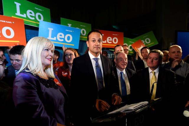 Fils d'un immigré indien et d'une Irlandaise, Leo... (Photo Clodagh Kilcoyne, REUTERS)
