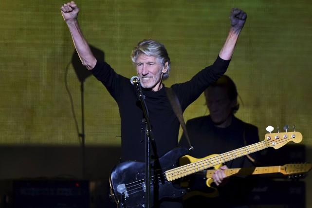 En concert à Mexico en septembre dernier, Roger... (AFP, RONALDO SCHEMIDT)