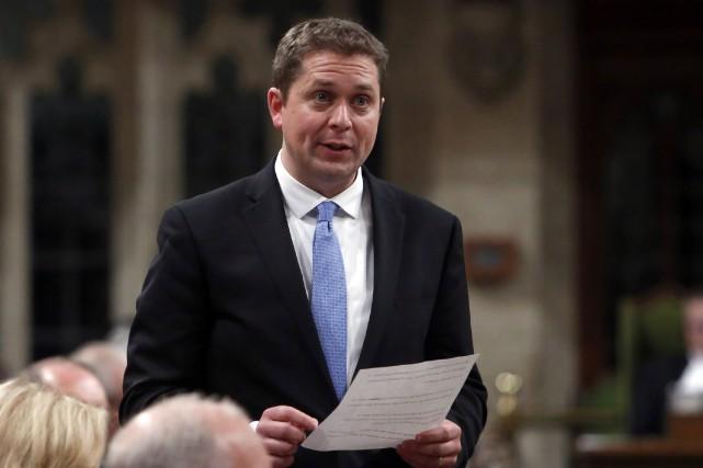 Le nouveau chef du Parti conservateur du Canada,... (La Presse canadienne, Fred Chartrand)