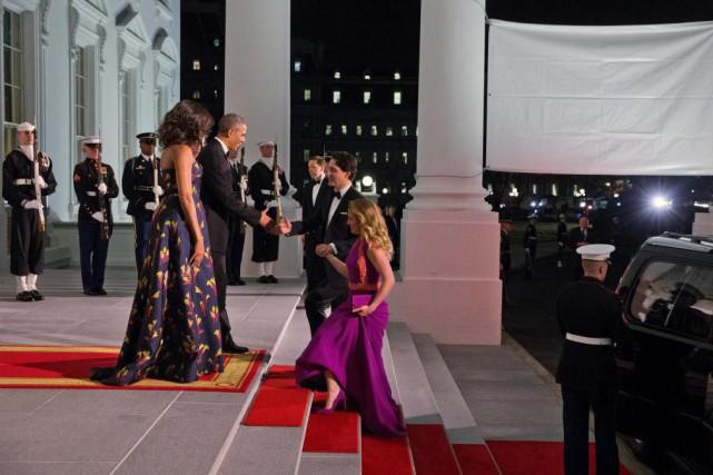 Le président des États-Unis Barack Obama et la... (photo Jacquelyn Martin, archives associated press)