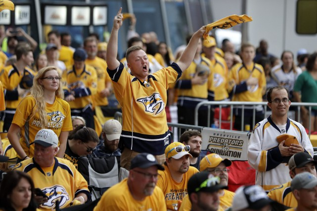 La frénésie à Nashville devrait atteindre un niveau... (Photo Mark Humphrey, AP)