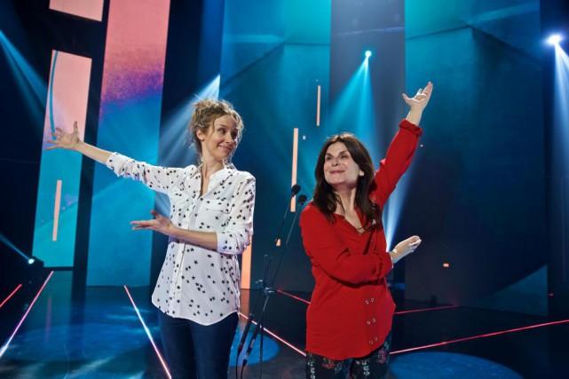 Édith Cochrane et Guylaine Tremblay seront à la... (Photo André Pichette, La Presse)