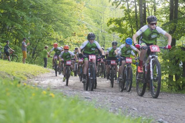 Le nombre de cyclistes qui participent aux compétitions... (Spectre Média, Julien Chamberland)