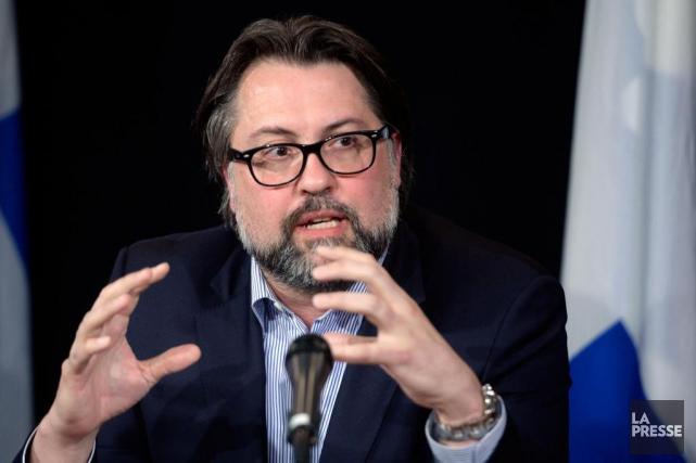 Le ministère de l'Environnement a accordé un contrat... (Archives La Presse, Bernard Brault)