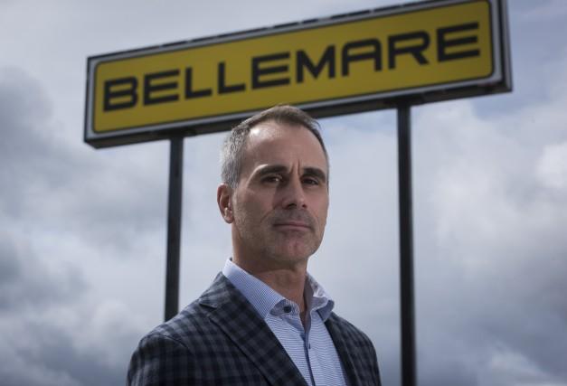 Le président de Transport Bellemare International, Jean-Luc Bellemare,... (François Gervais)