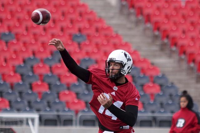 Ryan Lindley retrouve à Ottawa deux anciens collègues... (Étienne Ranger, Le Droit)