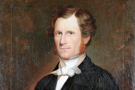 Le portrait du premier maire de Bytown, John... (Courtoisie)
