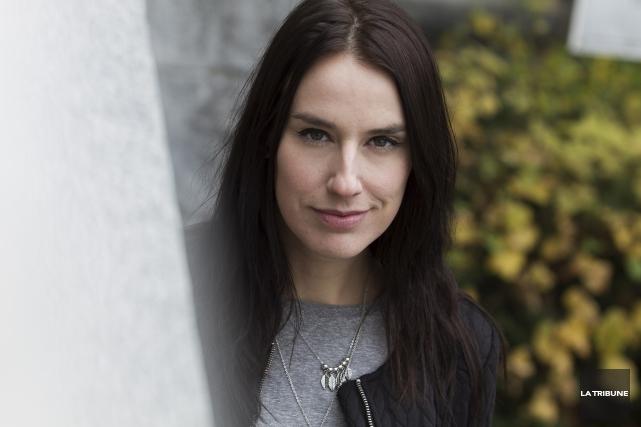 L'auteure-compositrice-interprète Amélie Larocque compte parmi les signataires de... (Archives, La Tribune)