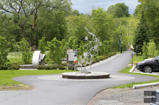 Les pistes cyclables de Waterloo seront repavées et... (Janick Marois, La Voix de l'Est)