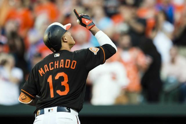 Manny Machado... (Photo Patrick McDermott, USA TODAY Sports)