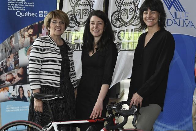 Martine Couture, présidente-directrice générale du CIUSSS du Saguenay-Lac-Saint-Jean,... (Le Progrès, Michel Tremblay)
