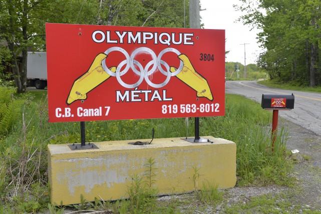 Un vol qualifié est survenu chez Olympique métal... (Spectre Média, Maxime Picard)