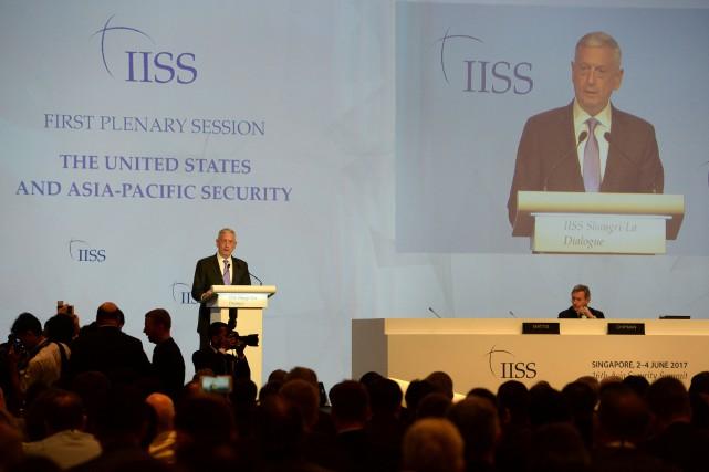 Le chef du Pentagone, Jim Mattis, s'en est... (Photo ROSLAN RAHMAN, AFP)