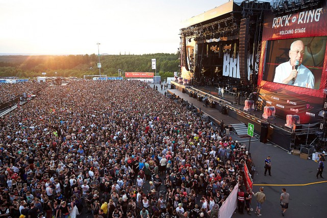 L'organisateur de Rock am Ring, Marek Lieberberg, annonce... (Photo Thomas Frey, AP/DPA)