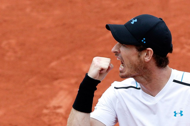 Andy Murray... (Photo Christophe Ena, Associated Press)