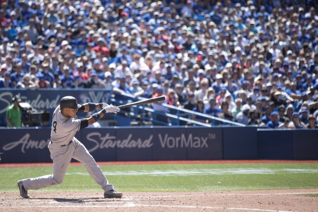 Starlin Castro (sur la photo), Brett Gardner, Matt Holliday... (Photo Chris Young, La Presse canadienne)