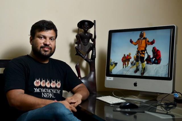 Satyarup Siddhanta a eu la surprise de découvrir... (AFP, Manjunath Kiran)
