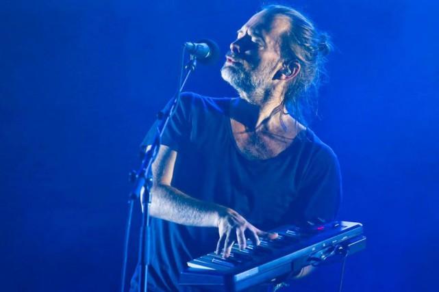 En dépit des critiques, Thom Yorke se produira... (Photo archives AP)