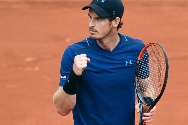 Andy Murray, qui connaît une saison moyenne jusqu'à... (AFP, François Xavier Marit)