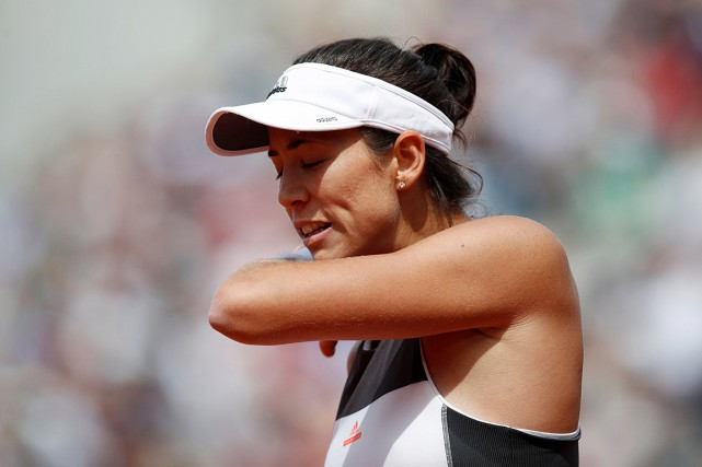 Garbine Muguruza... (Photo Christian Hartmann, REUTERS)